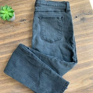 J Brand Super Skinny Night Bird Gray Jeans Size 32